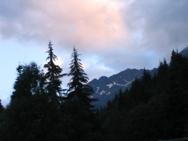 Дамхурц (закат)